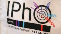 Logo of the 44th IPhO. Designed by Bohr' atom model. Photo: Merily Salura